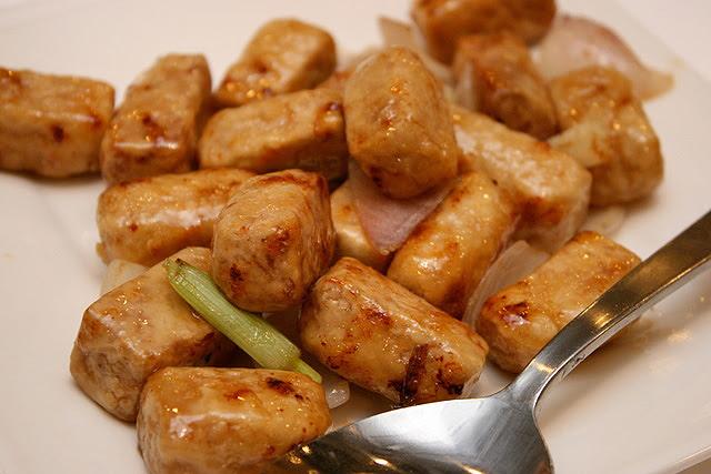Stir-fried Yam (S$10)