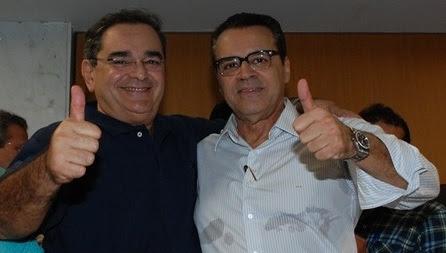 Resultado de imagem para Álvaro Dias e Henrique Alves