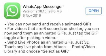 hướng dẫn gửi ảnh gif trên iphone