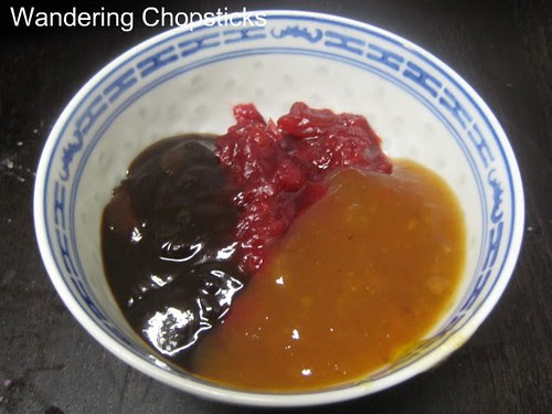 Cranberry, Plum, Hoisin Sauce 3