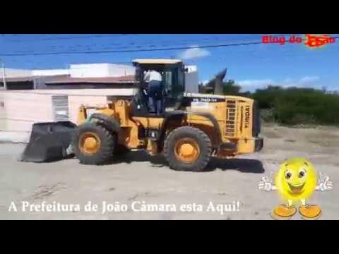 Prefeitura de João Câmara realiza limpeza em terreno na rua 29 de outubro.