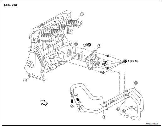 Nissan Rogue Engine Diagram