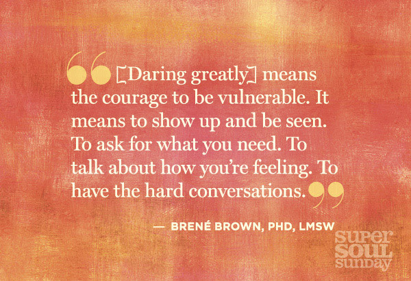 Dr. Brene Brown Quotes on Shame, Vulnerability and Daring Greatly