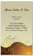 BCS-1039 - salon business card