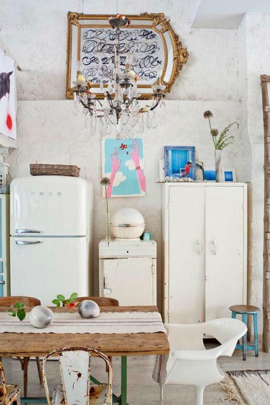 Magical Bohemian Style Loft in Madrid | decor8