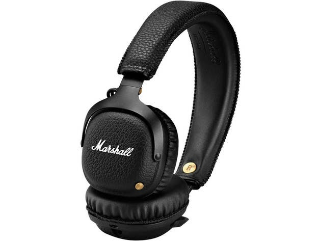 Marshall MIDBTBLK Mid Bluetooth Black Wireless Headphones for $199