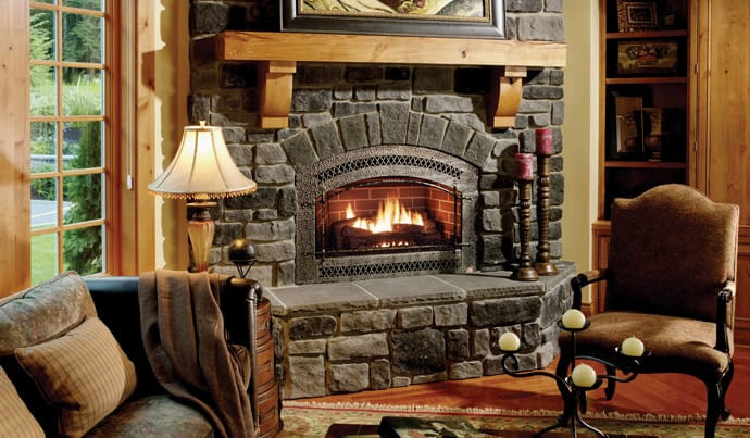 25 Stone Fireplace Ideas for a Cozy, Nature-Inspired Home | DesignRulz