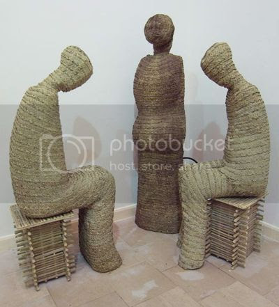 Ahmed Askalany's Weaved Sculpture 12