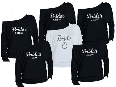 8 Personalized Bridesmaids Shirts. Brides Shirts. Maid Of