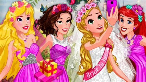 Disney Princess Bridal Shower Dress Up Games   Disney