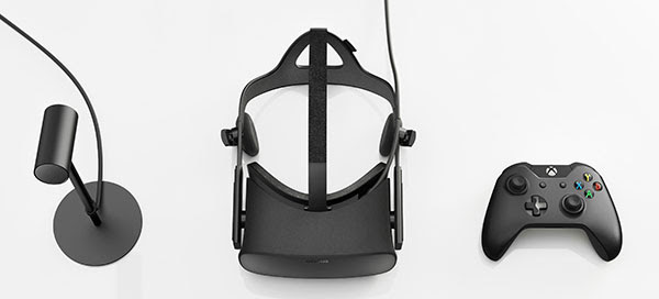 Oculus has partnered with Microsoft to bundle a wireless Xbox One controller with the Rift. (Image Source: Oculus)