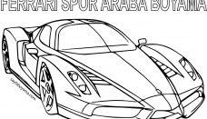 Spor Araba Boyama