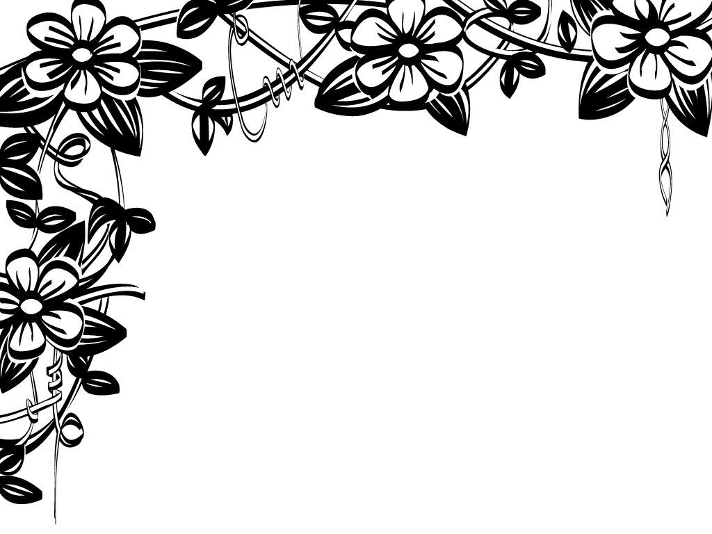 Floral Border Clip Art Free