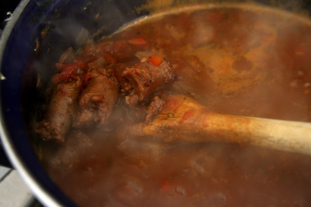 Ragú de Salchica y Carne