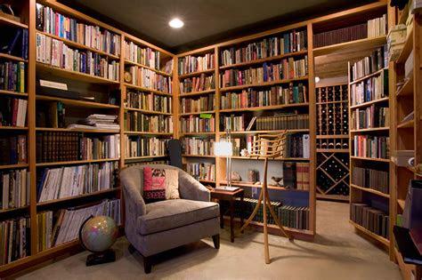 small home library design ideas el cohete  la luna