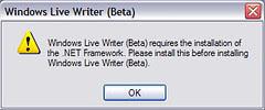 no Windows Live Writer for me!