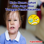 Foto Anak Lucu Buat Dp Bbm