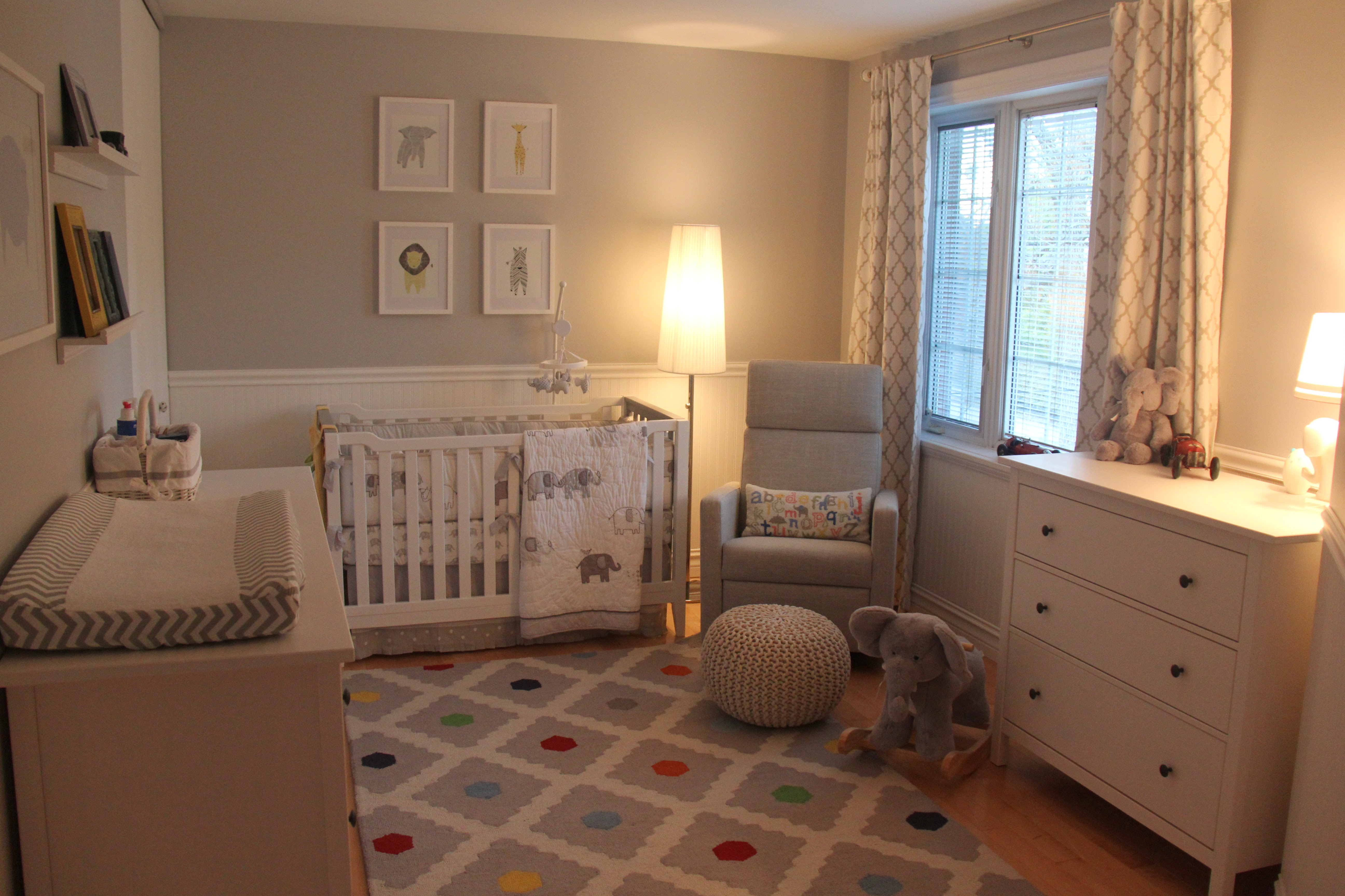 Our Little Baby Boy's Neutral Room - Project Nursery