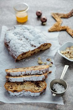 An Orange Marmalade Date Fig Stollen - spreading the Christmas spirit
