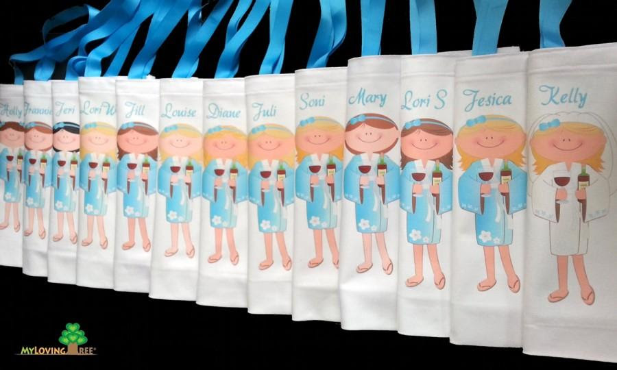 Bridesmaid Gifts Spa Girl Party Gift Bags Bridal Shower Bachelorette
