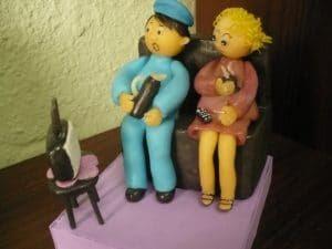 Adornos personalizados en imagenes de cumpleaños