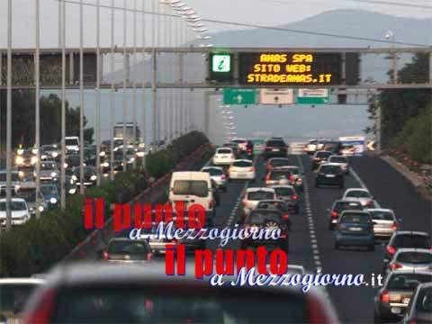 A1 diramazione Roma Sud, traffico sbloccato per incidente tra Torrenova e bivio G.R.A.