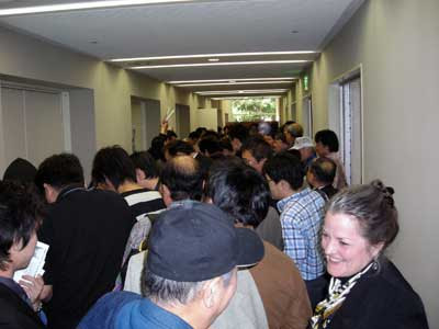 Crowd in the sales area JPG