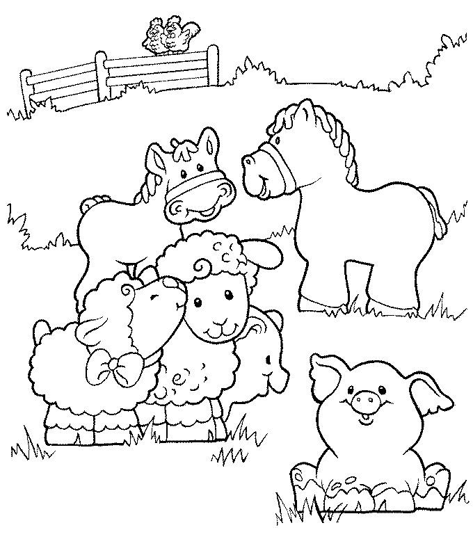 Farm Coloring Pages 2  Coloring Pages To Print