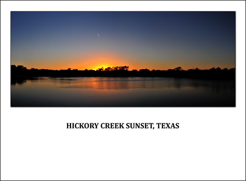 Hickory Creek Trail Sunset by Photographyco