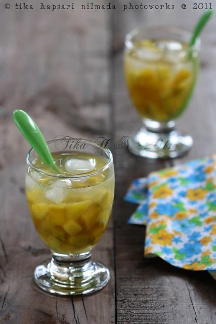 (Homemade) Serbat kweni / Horse mango sorbet