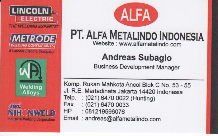Pt Alfa Metalindo Indonesia Jakarta