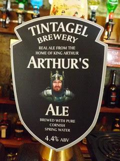 Tintagel, Arthur's Ale, England