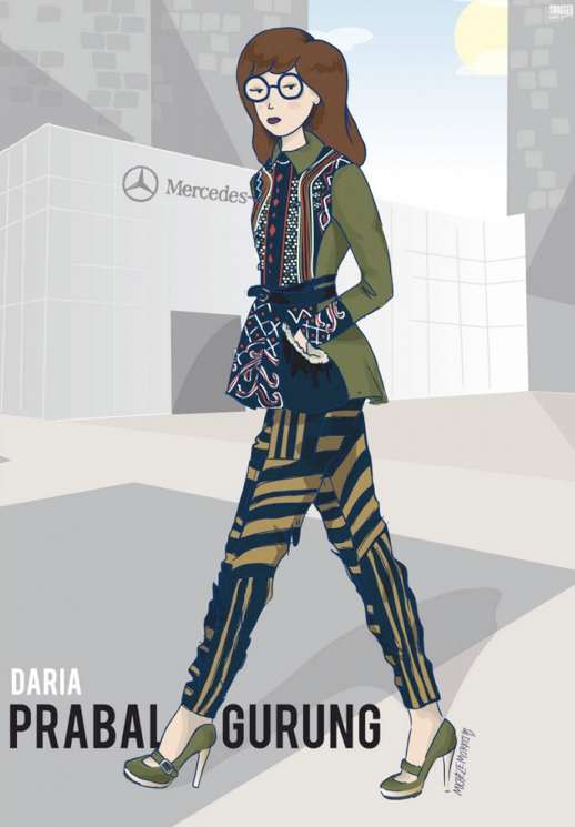 LE FASHION BLOG SWAGGER NEW YORK MICHELE MORICCI 90S CHARACTERS CARTOONS NEW YORK FASHION WEEK DARIA PRABAL GURUNG NEW YORK FASHION WEEK ILLUSTRATIONS BEAVIS BUTTHEAD SAILOR MOON IF DARIA LISA SIMPSON WENT TO NYFW photo LEFASHIONBLOGSWAGGERNEWYORKMICHELEMORICCI90SCHARACTERSCARTOONSNEWYORKFASHIONWEEKDARIAPRABALGURUNG.png