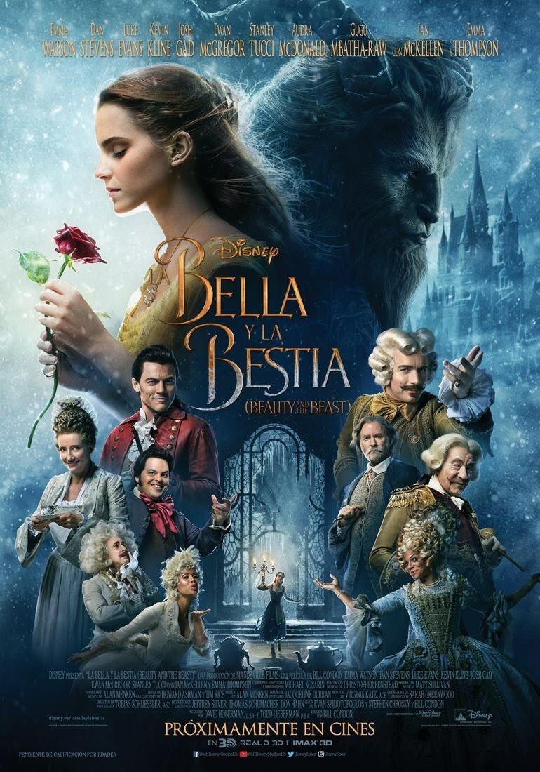 póster de la película La bella y la bestia
