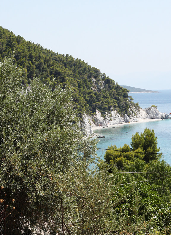 view to Hovolo beach