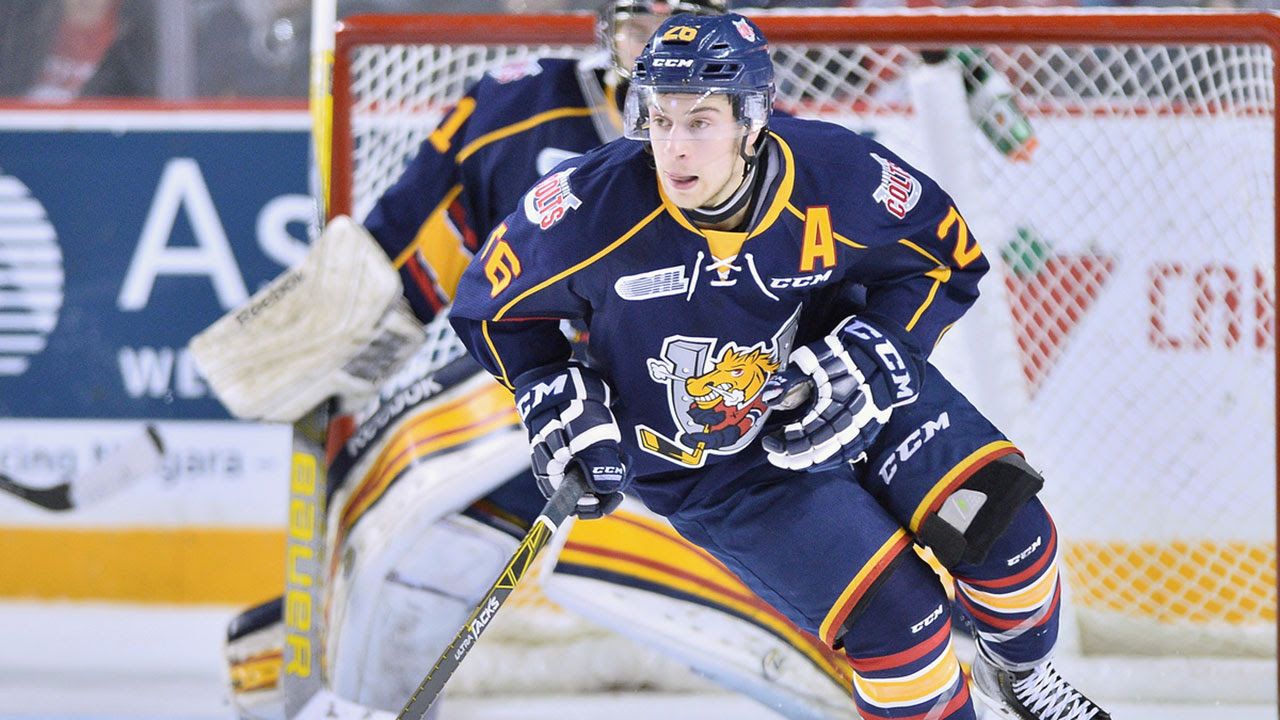 Image result for a very barrie colts blog andrew mangiapane