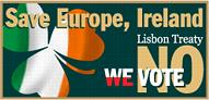 SAVE EUROPE, IRELAND!