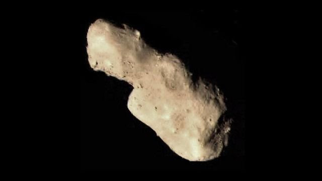 Asteroid 4179 Toutatis, photo courtesy China National Space Administration
