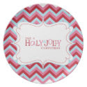 Holly Jolly Christmas Cookie Plate