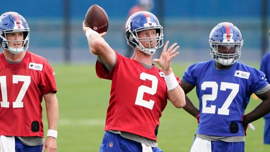 Giants QB Mike Glennon 'anxious' to start vs. Jets   Yardbarker