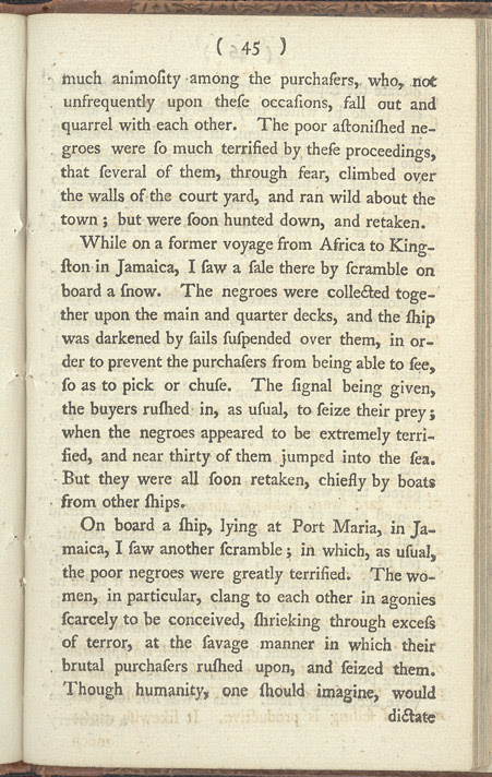 An Account Of The Slave Trade -Page 45