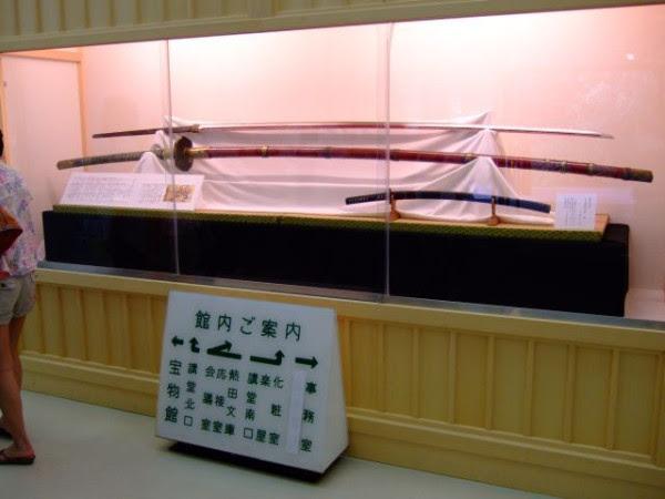 Одати, 16 век. Длина клинка 220 см, масса 4,5 кг. Боевое оружие.