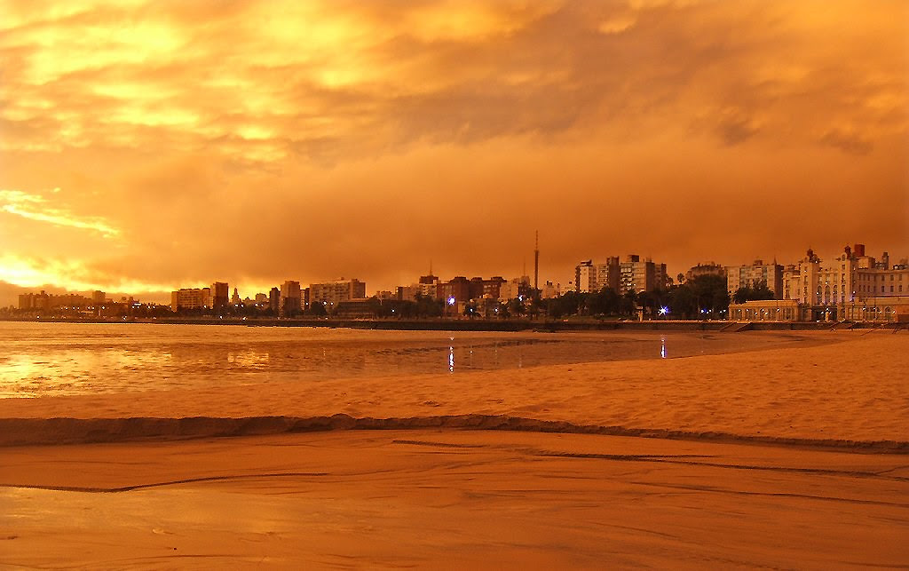 Montevideo skyline
