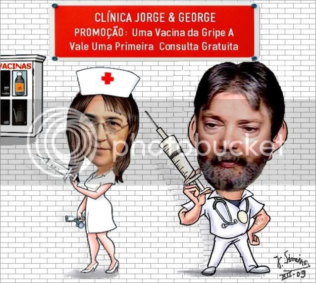 Museu 176 - Os Vacinadores da Clínica Jorge &George by J. Sineiro