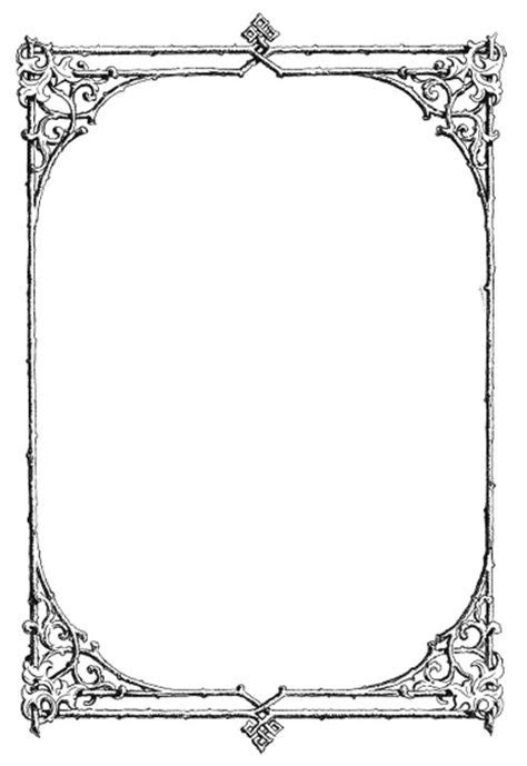Vintage Border Png Transparent PNG Pictures   Free Icons