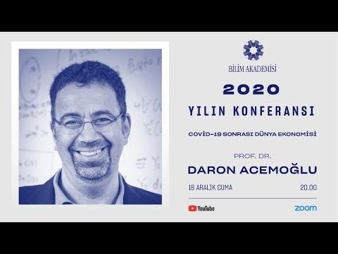Covid-19 Sonrası Dünya Ekonomisi - Prof. Dr. Daron Acemoğlu