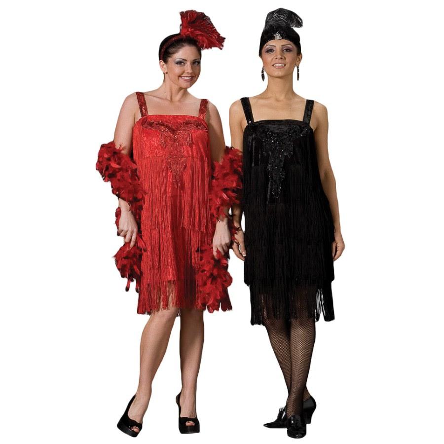 deluxe flapper costume  roaring 20's dress  1920s