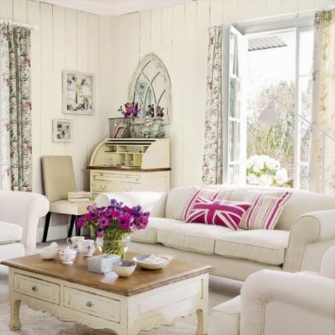 Rustic Living Room Furniture - Interior design