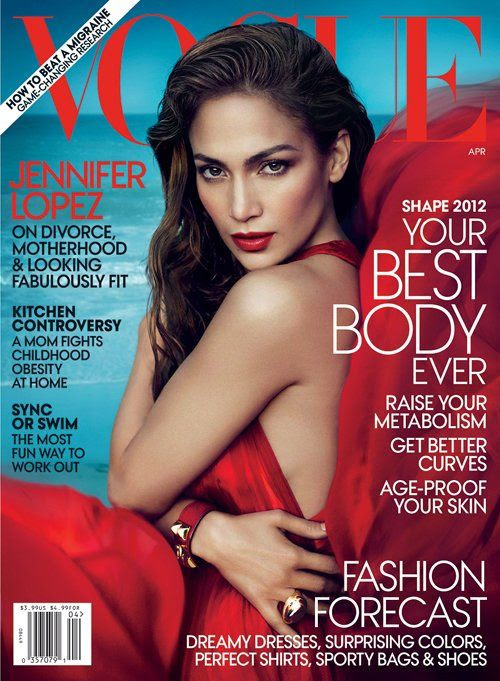 Vogue - April 2012, Jennifer Lopez