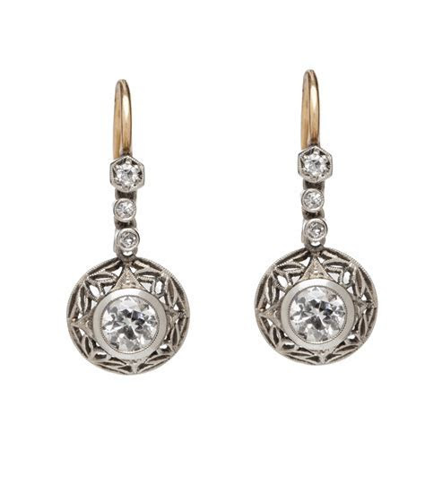 Edwardian   Timeless Elegance Dangle Earrings